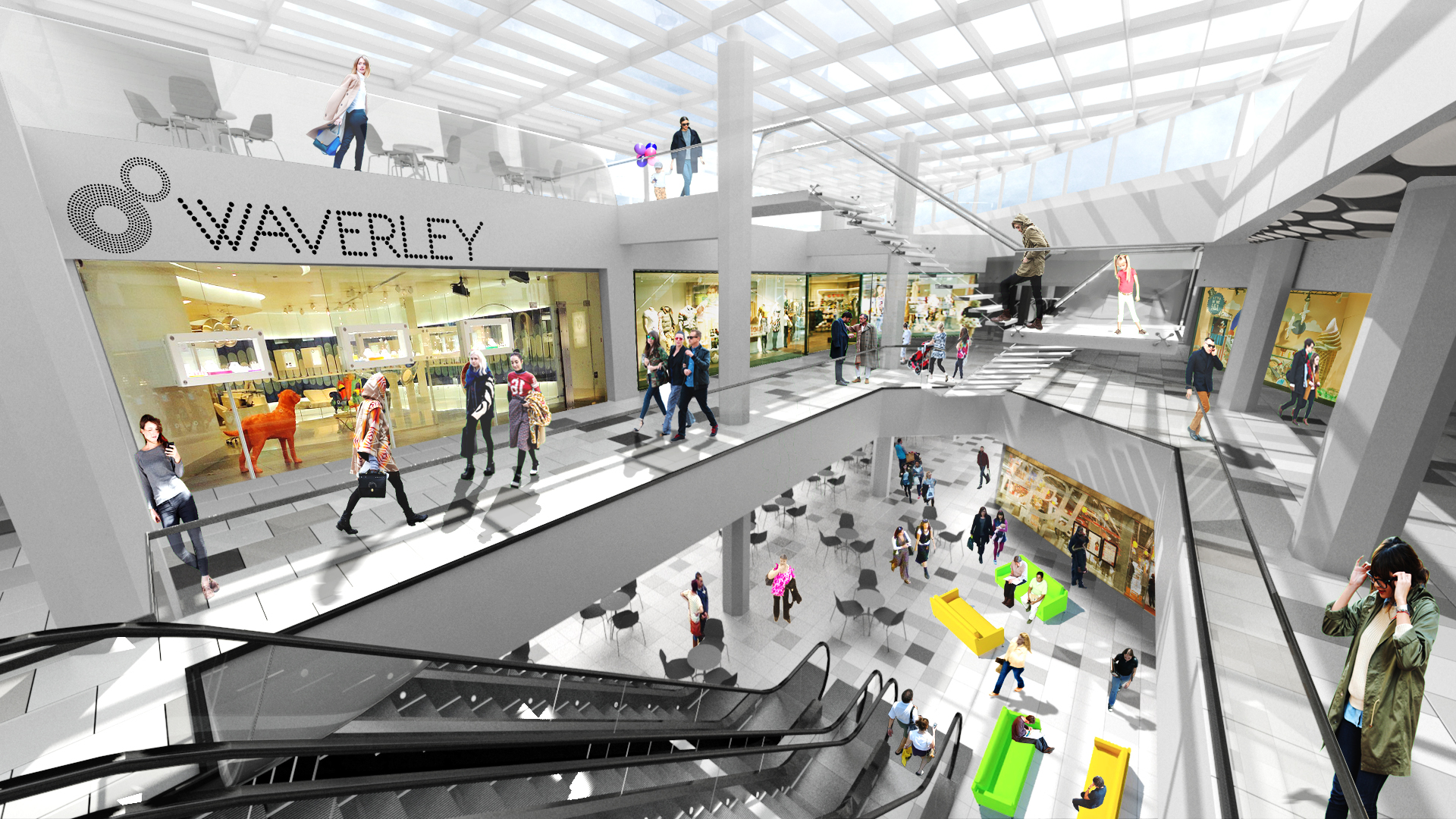 waverley mall  edinburgh